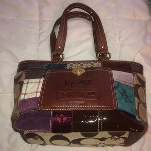 Authentic Coach Bag... multi pattern